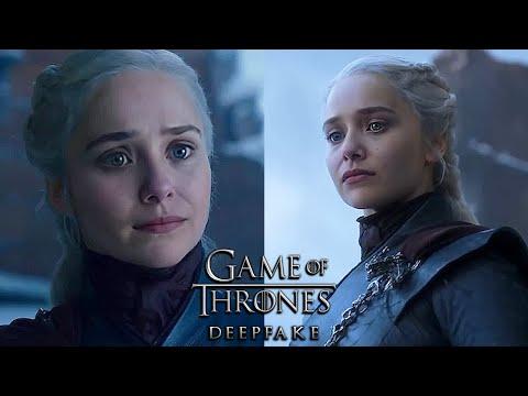 Elizabeth Olsen as Daenerys Stormborn [Deepfake]