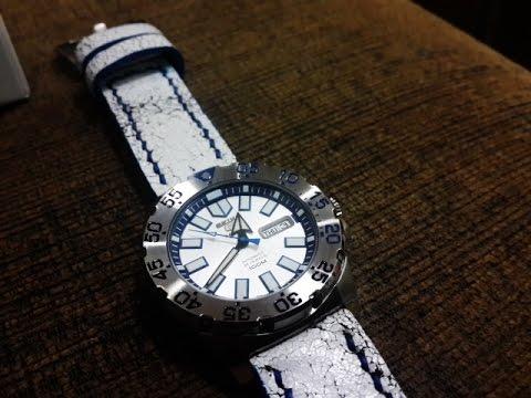 WatchesTokyo Rewiew ตอน Change Strap การเปลี่ยนสายนาฬิกา Seiko Monster