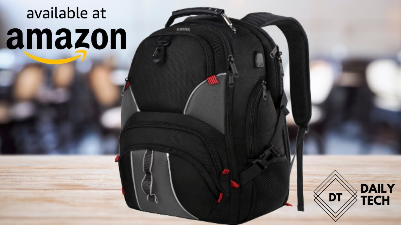 d225a8e3c215 YOREPEK Black 17 Inch Laptop Backpack Review Amazon Best Seller 2019 Anti  Theft Pocket TSA Friendly - YouTube