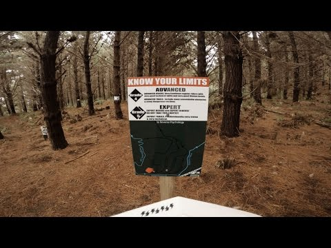 Woodhill Forest Advanced/Expert Trails GoPro - Kamma Cuzzie, Gale Force