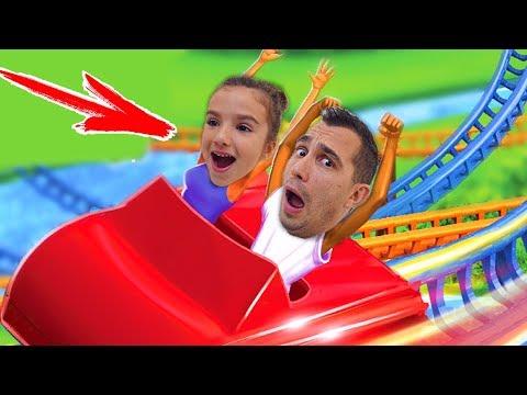 Как Аминка и Папа ОТКРЫЛИ СВОЙ АТТРАКЦИОН в ИГРЕ Веселый Летсплей Для Детей от Кикидо Play