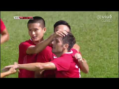 [Full Match]香港 4:0 寮國 Hong Kong 4:0 Laos (2017/10/5 友誼賽 Friendly)