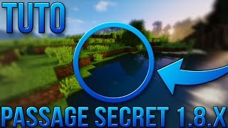 PASSAGE SECRET FACILE 1.8.X | Minecraft