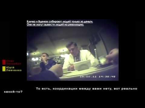 """О.Тягнибок.Украинская партия ВО """"Свобода"""".Скрытая камера.-"""