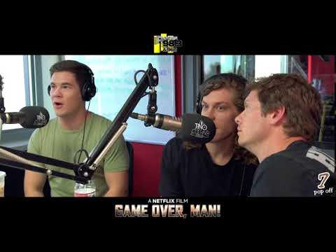 Adam DeVine, Anders Holm & Black Anderson talk life w Tino Cochino Radio