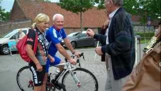 65+ wegkoers te Desteldonk op 21 juli 2012 - Merida Biker Fons Moors