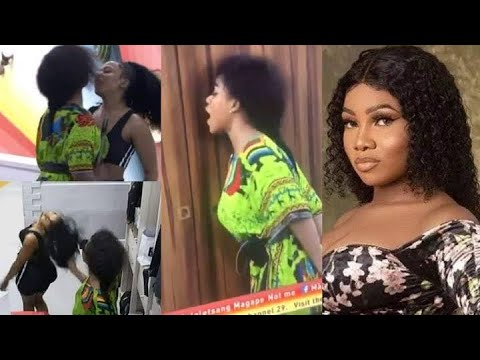 Download Tacha & Mercy Cry As Both Disqualified From Big Brother Naija