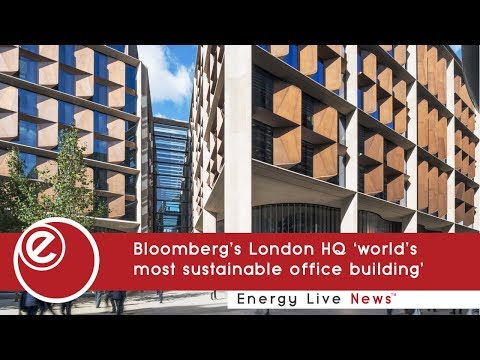 Bloomberg's London HQ 'world's most sustainable office building'