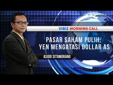 Pasar Saham Pulih; Yen Mengatasi Dollar AS