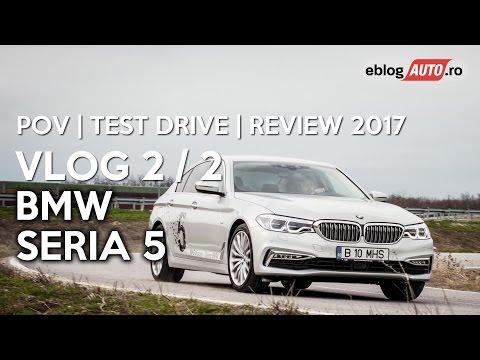 BMW 520d xDrive (Seria 5 G30) POV 2/2 | Test Drive | Review 2017