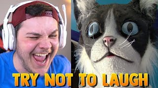 Try Not To Laugh 😂 - Reaction