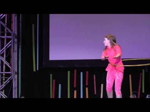 Rachel - Notre Dame - Hula Hoop Performance