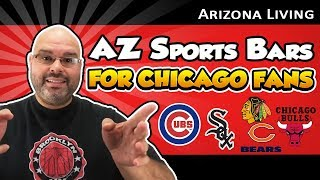 AZ Sports Bars for Chicago Fans