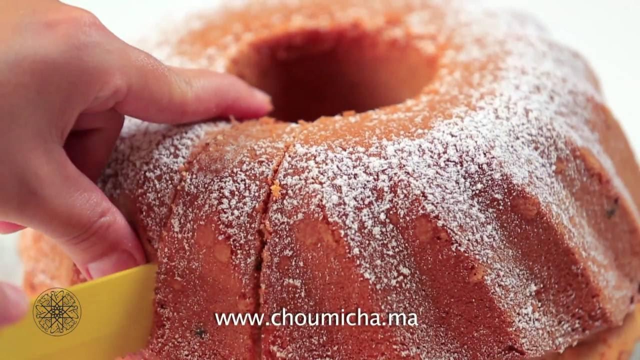 choumicha cake economique aux p pites de chocolat youtube. Black Bedroom Furniture Sets. Home Design Ideas