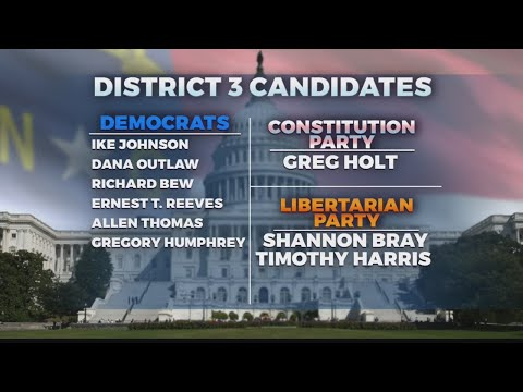 Primary election day for 3rd Congressional District
