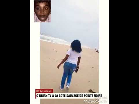 La côte sauvage de la ville de Pointe - Noire ( Congo Brazzaville) 2018