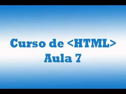 Curso De HTML - Aula 7 - Criar Lista Em HTML