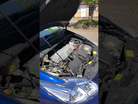 Toyota Prius 59 Plate Engine Noise At 1st Start