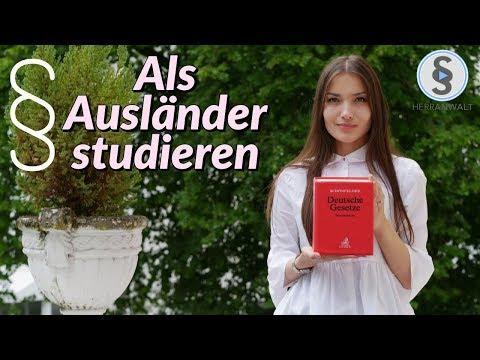 Als Ausländer in Deutschland studieren ? So macht sie es! | Jura