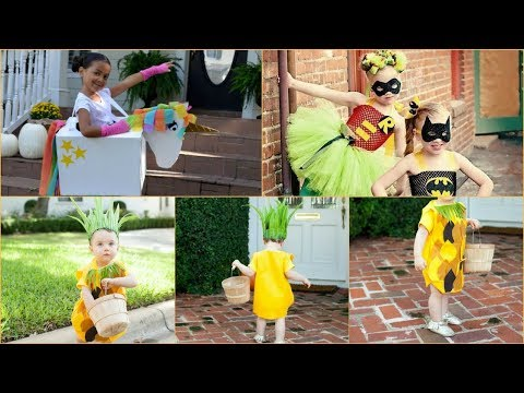 DIY Halloween Costumes Ideas For Kids/Toddler