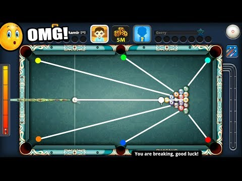 HOW TO POT 5 BALLS IN 8 BALL POOL ON THE BREAK (like a boss)