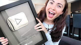 I FINALLY GOT IT!! (100,000 Subscribers Play Button)