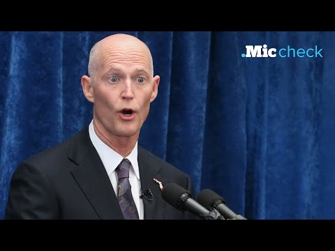 Florida governor Rick Scott is one of the worst governors in the country | Mic Check