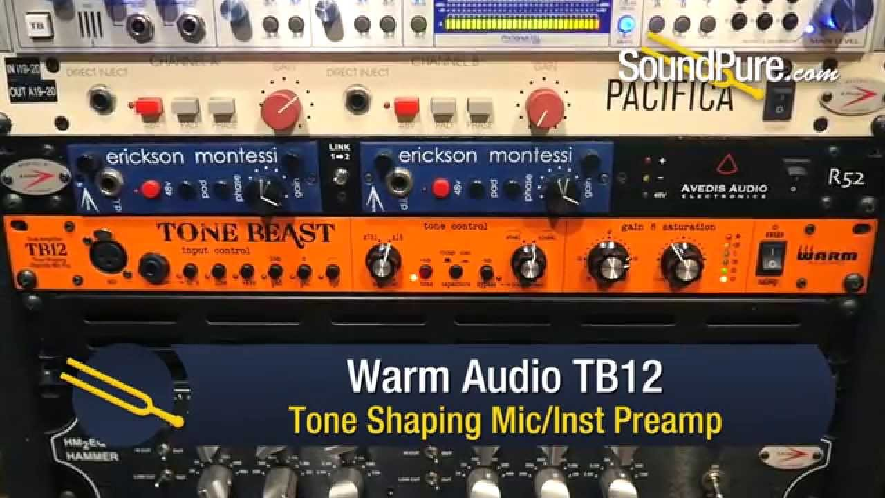 warm audio tb12 tone shaping preamp quick n dirty youtube. Black Bedroom Furniture Sets. Home Design Ideas