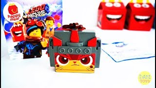 2019 McDONALD's Happy Meal Toys The Lego Movie 2 UltraKatty Unbox and Review 麥當勞兒童快樂套餐樂高玩電影2終極獨角貓 开箱
