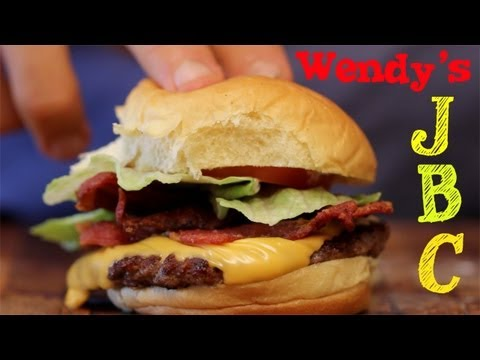 Wendy's Junior BACON Cheeseburger - Perfect Clone Recipe