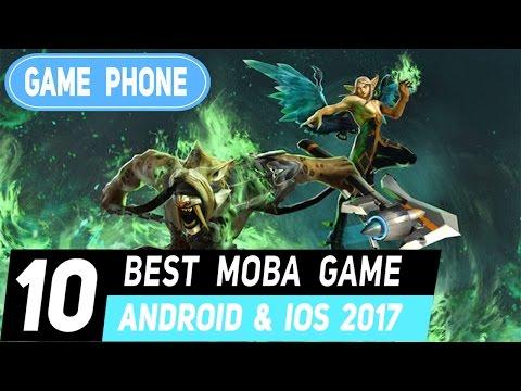 Top 10 เกมมือถือ แนว lol hon หรือ dota ปี 2017