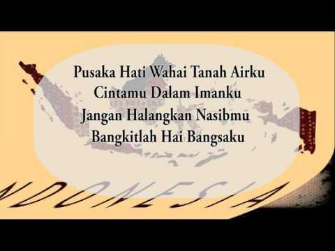 Mars Syubbanul Wathon-Cinta tanah Air with lyrics -SMK Syubbanul Wathon