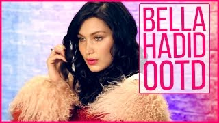 Bella Hadid's OOTD Cover Shoot