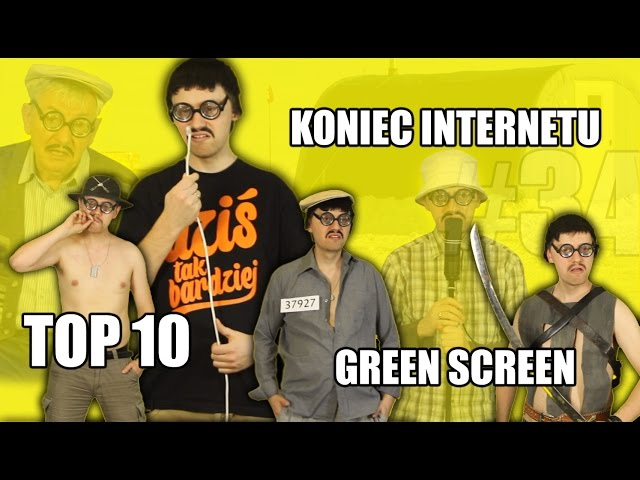 Koniec internetu, 10 filmów i green screen - CYBER INFO # 34