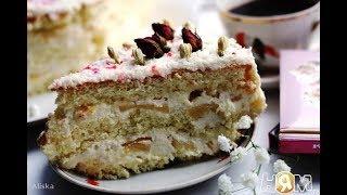 Бисквитный торт Пина Колада