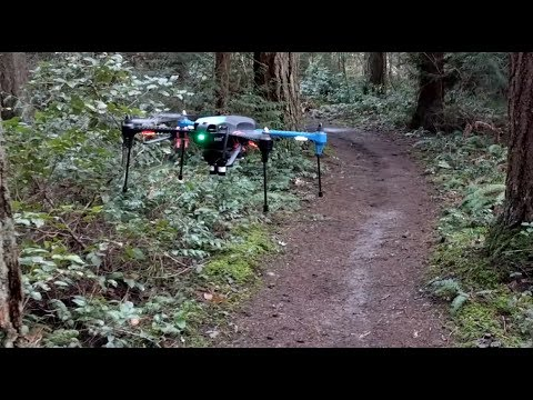 Nvidia's autonomous drone keeps on track without GPS
