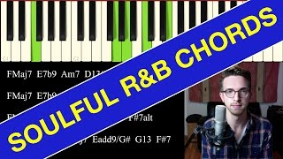 How to Play Soulful R&B Chords (ADVANCED)