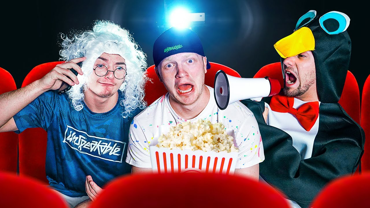 Download 10 CRAZY Movie Theater Stereotypes