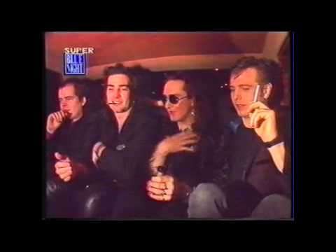 The Mission UK - Wayne Hussey - 1990 RARE limousine interview