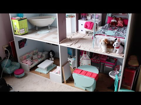 american girl doll house tour august 2016 youtube