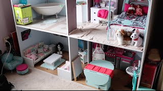 American Girl Doll House Tour!! {August 2016}
