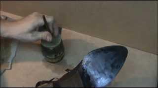 Ремонт переломанной подошвы(Ремонт .подошвы сапог. Подошва сапог резиновая, излом на обоих подошвах, причем на одном трещина вышла на..., 2013-07-28T17:27:39.000Z)