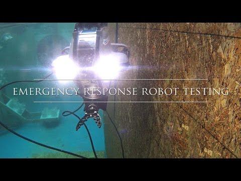 Emergency Response Robot Testing - NIST