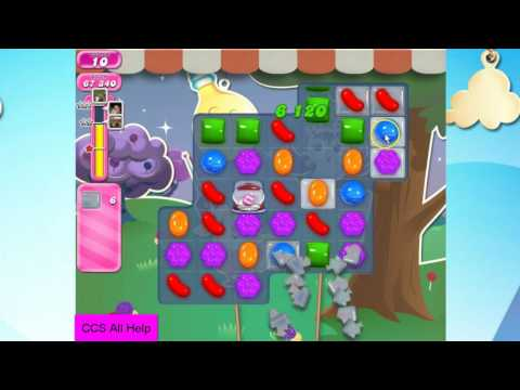 Candy Crush Saga Level 2352 18 moves NO BOOSTERS Cookie
