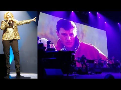 Sylvie Vartan : les images de son concert hommage à Johnny Hallyday