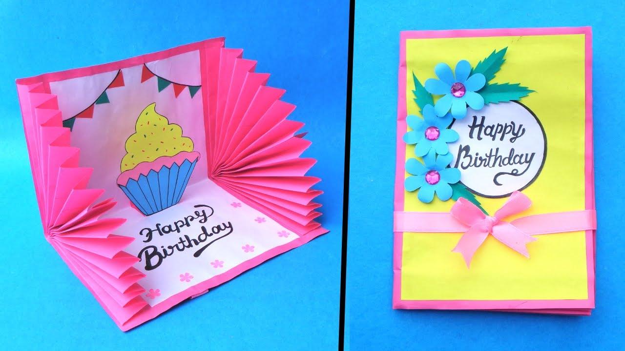 beautiful birthday card idea  handmade greetings card