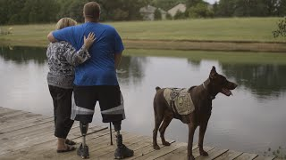 Wounded Warrior Surprises Mighty Mom