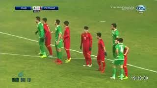 U23 Việt Nam và U23 Iraq hiệp 2