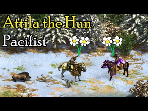 Aoe2: Is It Possible to Win the Attila the Hun Campaign Without Killing Enemy Units?