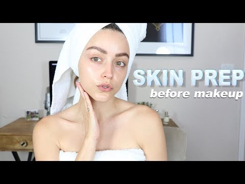 HOW TO PREP YOUR SKIN FOR FLAWLESS MAKEUP! - YouTube